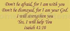 ~Item # 3946 K Primitive Stencil ~Don't be afraid Isaiah 41