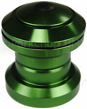 "Aluminum alloy BMX or MTB bicycle headset 1 1/8"" threadless - GREEN ANODIZED"