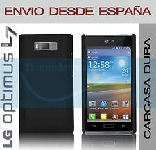 CARCASA FUNDA DURA NEGRA LG OPTIMUS L7 P700 / P705 EN ESPAÑA