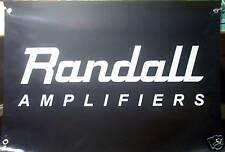 RANDALL AMPLIFIERS - LARGE 3' X 2' BANNER - NICE !!!