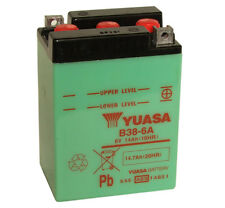 Genuine Yuasa B38-6A 6V Motorbike Motorcycle Battery