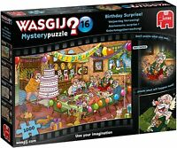 NEW! Jumbo Games Wasgij Mystery 16 Birthday Surprise 1000 piece jigsaw puzzle