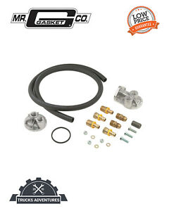 Mr Gasket 7682 Remote Oil Filter Kit