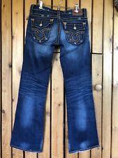 Big Star Liv Jeans Orange Stitching 28x31.5