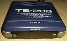 FET TB208 TB-208 TB 208 Turbo Timer Turbotimer mit Adapter Toyota MR2 MR 2 90-99