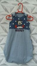 DISNEY BABY MICKEY MOUSE SLEEPING BAG 0 to 6 MONTHS -  A2