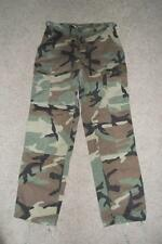 Military BDU Small Reg Pants Camouflage Cold Weather Trousers Work Hunting  #30