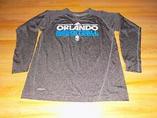 Youth Size Medium Adidas Orlando Magic Basketball Long Sleeve Climalite Shirt