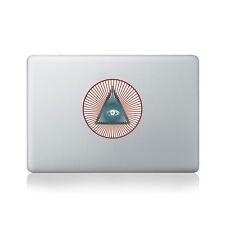 All seeing eye vinyle autocollant pour macbook (13/15) ou ordinateur portable/macbook decal/...