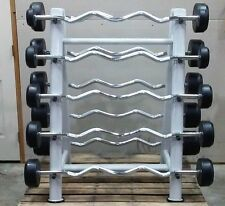 Fixed Barbell Set with Rack - Free Delivery