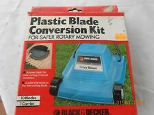Plastic Blade conversion kit for Black and Decker Rotary Mowers