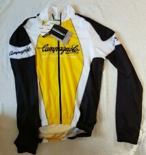 Campagnolo Team Light Textran Jacket. Yellow, black & white. Large, new