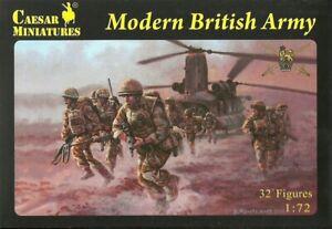 Caesar Miniatures 1/72 Modern British Army