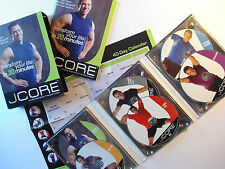 JCORE Accelerated Body Transformation 6 DVD Box Set w/Book Jay Cardiello Workout