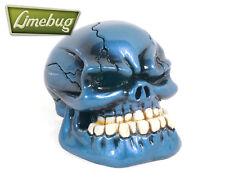Blue Gloss Jaw Custom Gearstick Skull Resin Gear Knob Stick Universal VW T1 T2