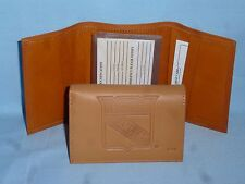 New York NY RANGERS   Leather TriFold Wallet  NEW!  tan  bb
