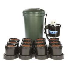 IWS 12 Pot Flood & Drain Hydroponics system standard with 220L water butt
