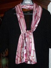 Vintage Schal mit geometrischem Muster