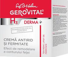Crema anti-età antirughe rassodante anti-wrinkle firming Gerovital H3 Derma+ 45+