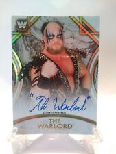 2018 TOPPS WWE LEGENDS THE WARLORD AUTO #ED TO 199