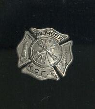 OLD KANSAS CITY FIRE DEPARTMENT MEMBER BADGE, KANSAS CITY, MO.