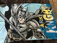 RARE BATMAN DARK KNIGHT TWIN SHEET SET FLAT, FITTED AND PILLOW CASE