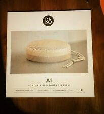 Bang & Olufsen B&O BeoPlay A1 - Bluetooth Speaker - Sand Stone - New in the box.