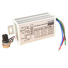 New 12V 24V 20A Max PWM DC Motor Stepless Variable Speed Controller 25kHz Switch