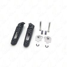 Black Rear Foot Pegs Footrest  For HONDA  CBR600RR 03-14 CBR1000RR 04-14 09 10