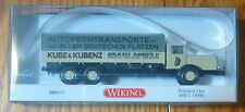 Wiking #0843 / MB L10 000 Transport (HO Scale) Kube & Kubenz