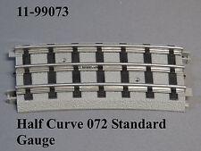 MTH STANDARD GAUGE REALTRAX 072 HALF CURVE TRACK Lionel Tinplate 11-99073 NEW