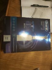 USED Oral-B Smart 5 5000 CrossAction Electric Toothbrush, 3 NEW Heads and Case