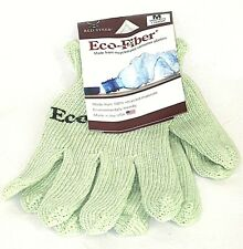 Eco-Fiber Gloves Women Size M - Recycled Post Consumer Plastics