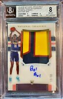 2019-20 National Treasures Bol Bol FOTL SICK RPA ROOKIE!!! BGS 8 NM-MT /30🔥
