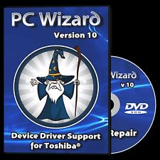 Drivers Restore Recovery Repair for Toshiba Laptops Windows 10 8.1 7 Vista XP
