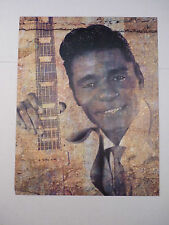 Guitar Slim Eddie Jones Blues Guitarist 12x9 Coffee Table Book Photo Page
