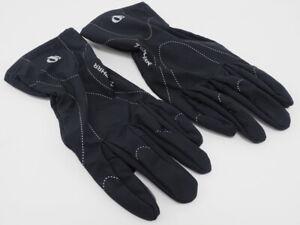 Pearl iZumi Zephyr Gloves Black Size Medium Running / Active Shell Glove Long
