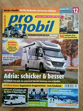 promobil Reisemobil Magazin Heft 12  2020 Adria Ducato Kauf Tipp Dauertest Hymer