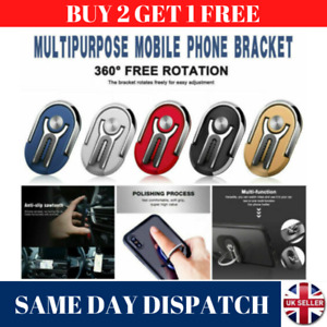 New Universal 360° Rotating Car Mobile Phone Holder Air Vent Mount 4 Colours UK