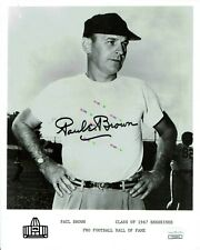 Paul Brown  Ohio State Signed Autographed 8x10 photo Reprint