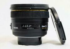 """""""AS IS"""" Sigma 50mm f/1.4 DG EX HSM for Nikon F Mount, MF Only- MUST READ! (8633)"""