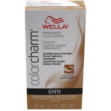 Wella Color Charm Liquid Hair Color, Intense Dark Blonde [6NN] 1.40 oz 2pk