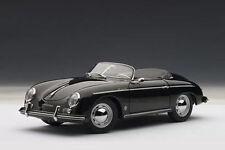 1/18 Autoart Porsche 356a Speedster Versión Europea (Negro) 1955