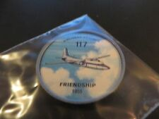 1961 JELL-O HOSTESS AIRPLANE SERIES COIN #117 1955 FRIENDSHIP CANADIAN