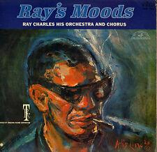 "RAY CHARLES ""RAY'S MOODS"" RHYTHM & BLUES SOUL 60'S LP ABC PARAMOUNT 550"