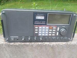 Grundig Satellite 800 Millennium Shortwave AM FM Radio Receiver