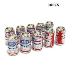 10PCS/SET 1:12 scale dollhouse furniture beer cans toys J0P4 SALE F4J4