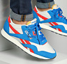 Reebok Classic Nylon Men's Shoes Trainers Blue/Chalk/Red Q47264 UK 9.5