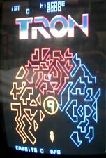TRON - Midway Arcade - LOGIC PCB BOARD SET - WORKING 100% - Fully Restored
