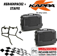 Kawasaki Versys 650 2010 2011 2012 Kit 2 Suitcases Side KGR46N +KLR450 Brackets